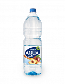 """Aqua Fruit"" peach flavored"