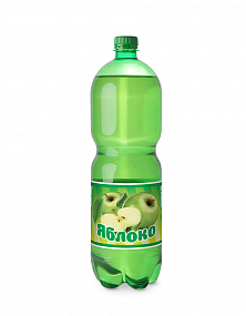 "Sparkling soft drink ""Apple"""