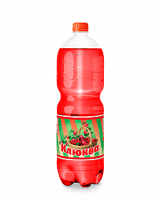 "Sparkling soft drink ""Сranberry"""